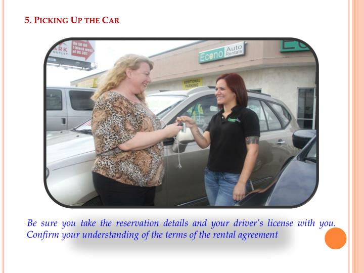 5. Picking Up the Car