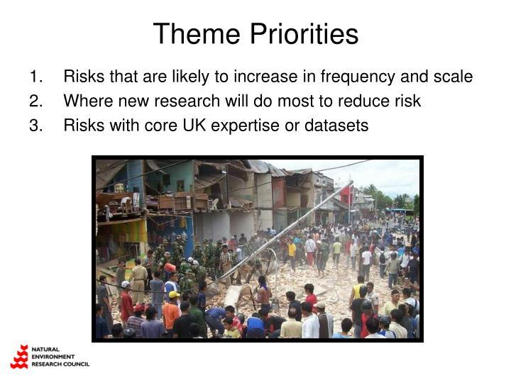 Theme Priorities
