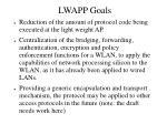 lwapp goals