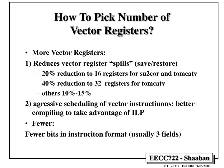 How To Pick Number of