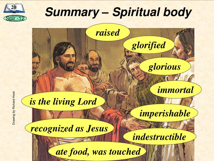 Summary – Spiritual body