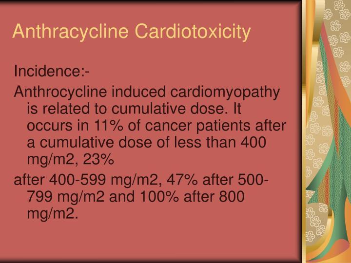 Anthracycline Cardiotoxicity