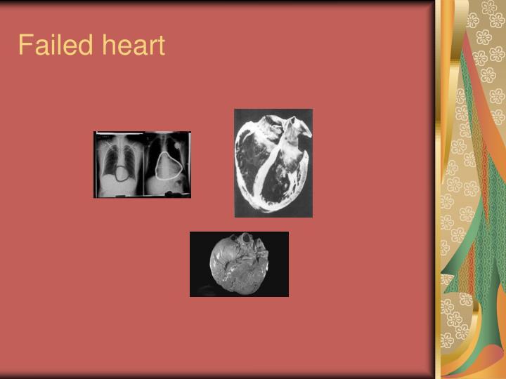 Failed heart
