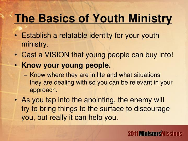 The Basics of Youth Ministry