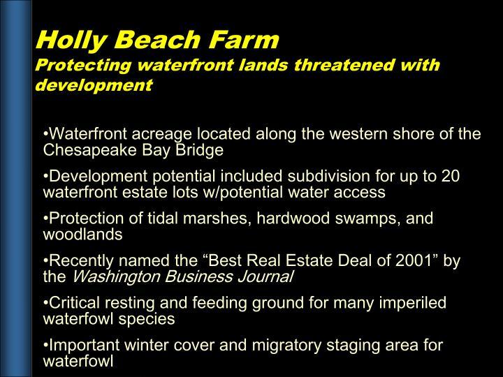 Holly Beach Farm