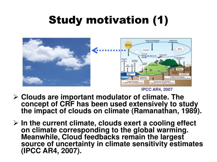 Study motivation (1)