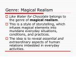 genre magical realism