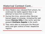 historical context cont1