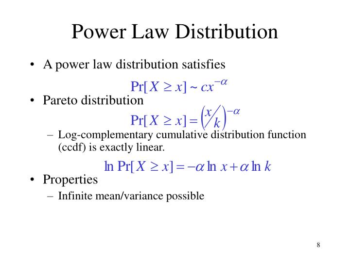 Power Law Distribution