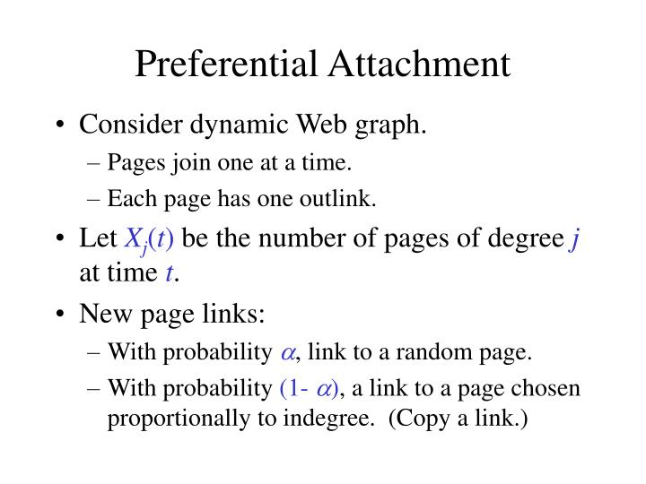 Preferential Attachment