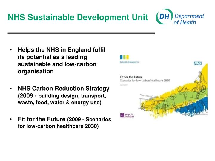NHS Sustainable Development Unit