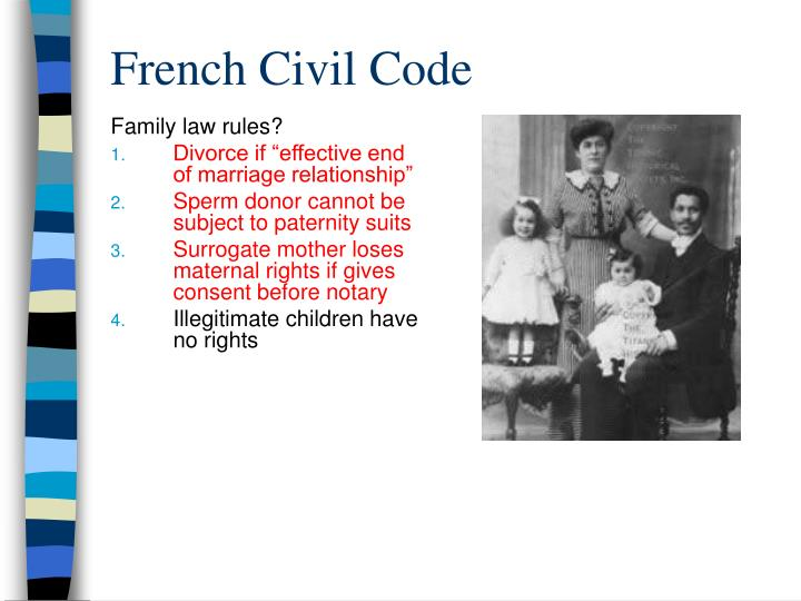 Family law rules?