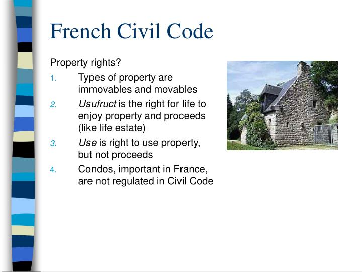 Property rights?
