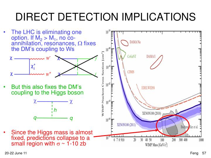 DIRECT DETECTION IMPLICATIONS