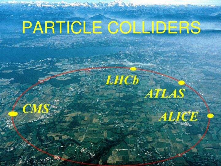 PARTICLE COLLIDERS