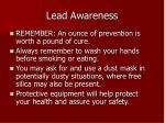 lead awareness6