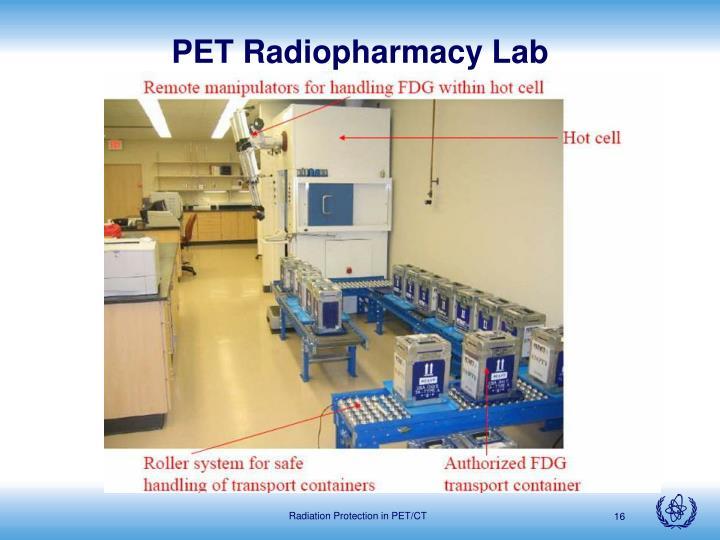 PET Radiopharmacy Lab