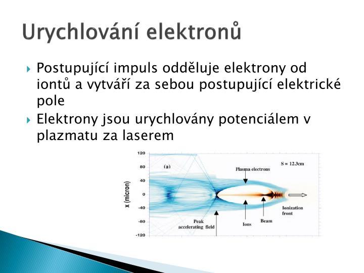 Urychlování elektronů
