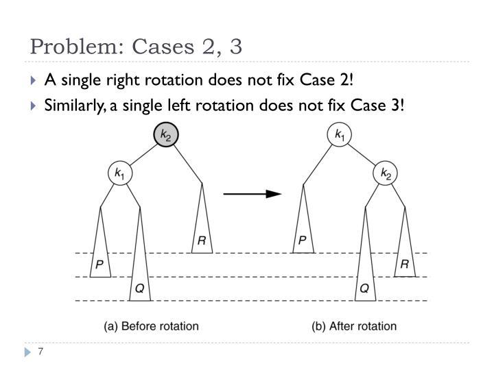Problem: Cases 2, 3