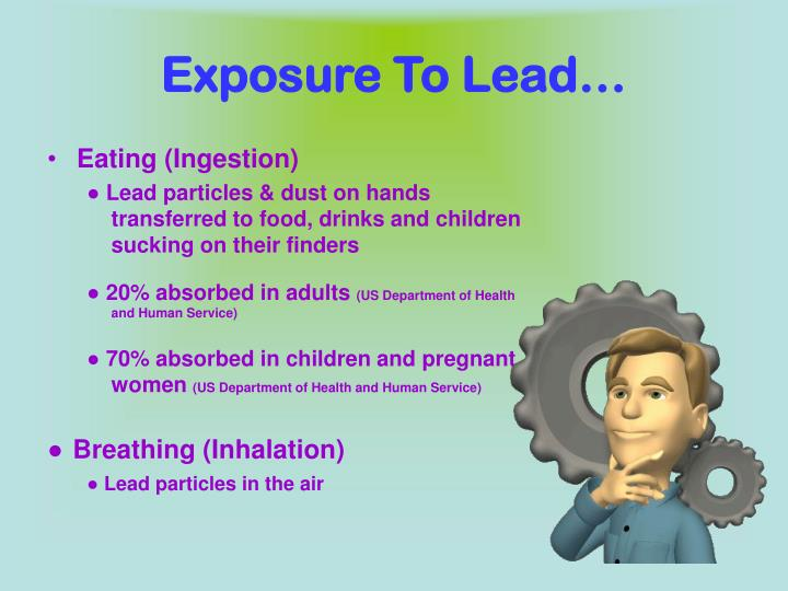 Exposure To Lead…