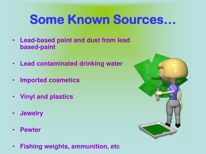 Some Known Sources…