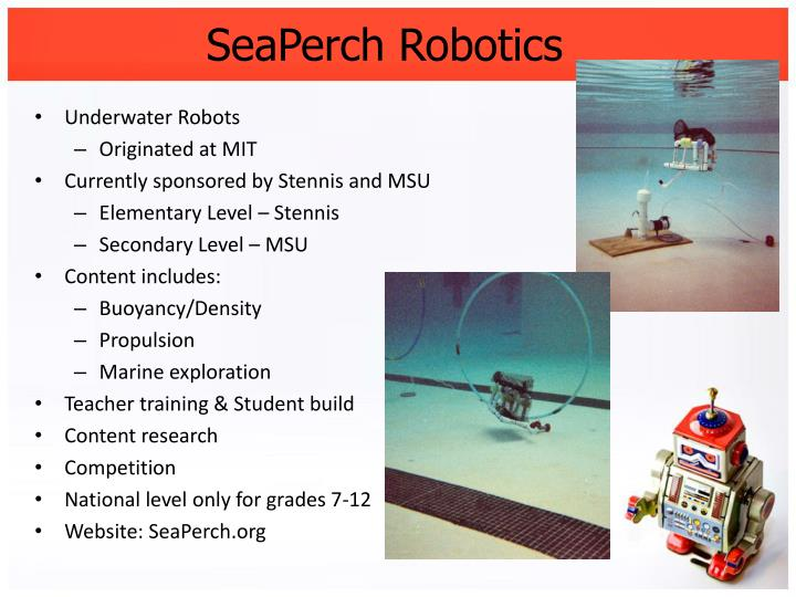 SeaPerch Robotics
