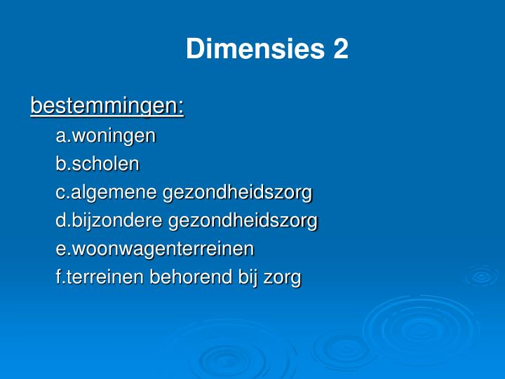 Dimensies 2