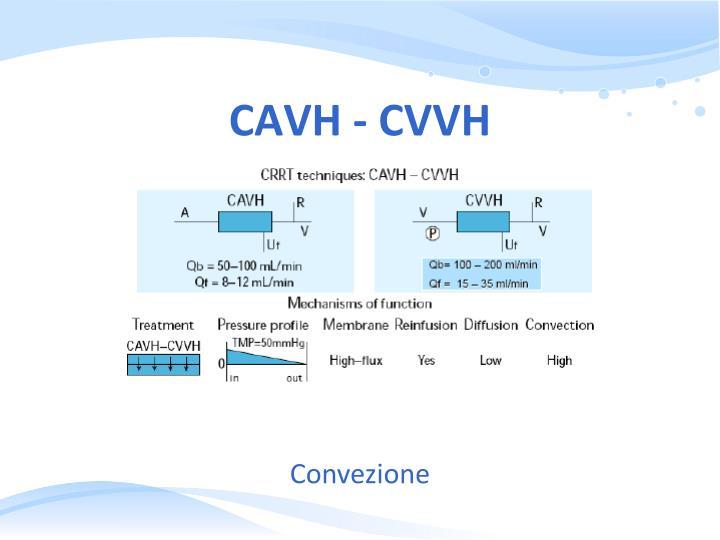 CAVH - CVVH