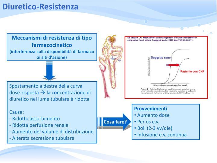 Meccanismi di resistenza di tipo farmacocinetico