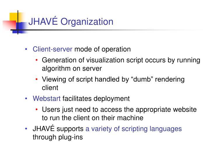 JHAVÉ Organization
