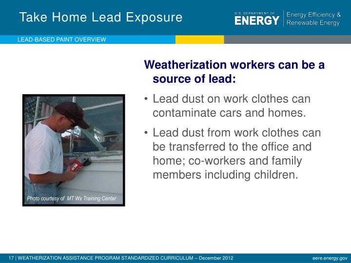 Take Home Lead Exposure