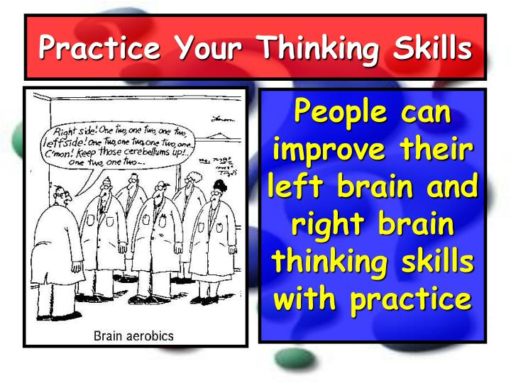 Practice Your Thinking Skills