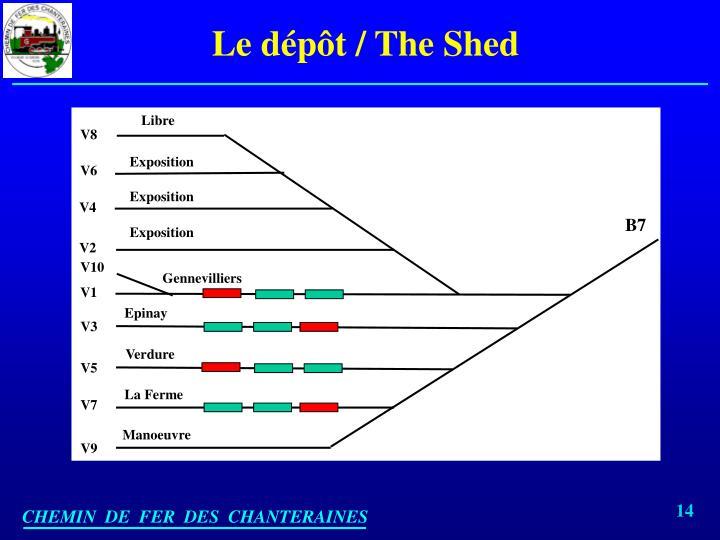 Le dépôt / The Shed