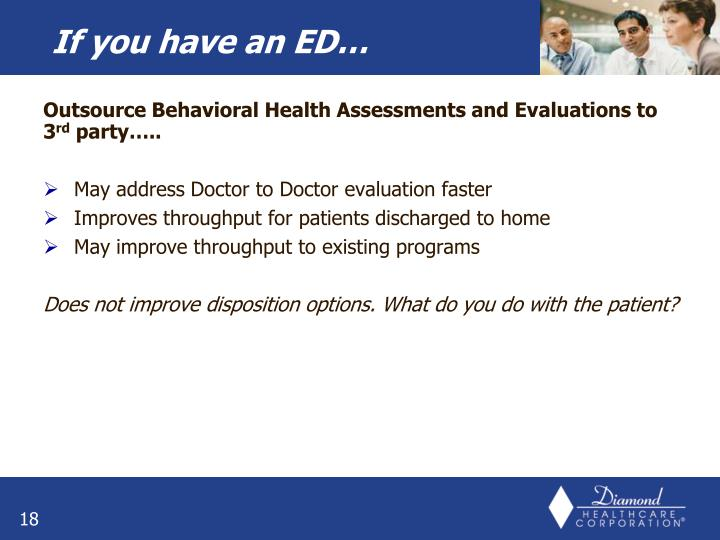 Outsource Behavioral Health Assessments and Evaluations to