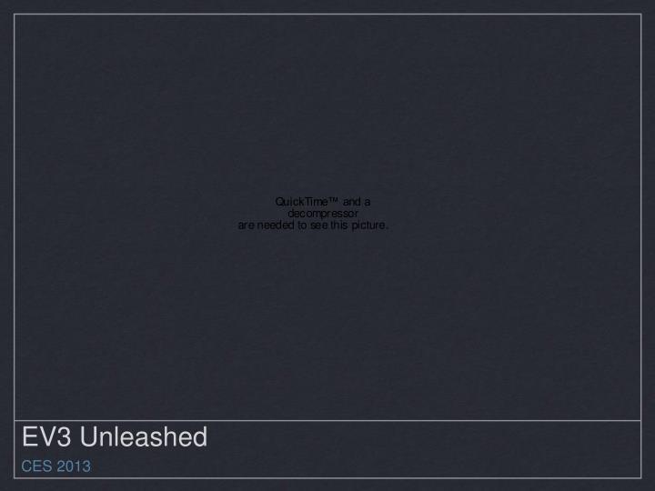 EV3 Unleashed