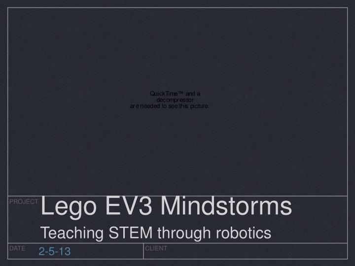 Lego EV3 Mindstorms