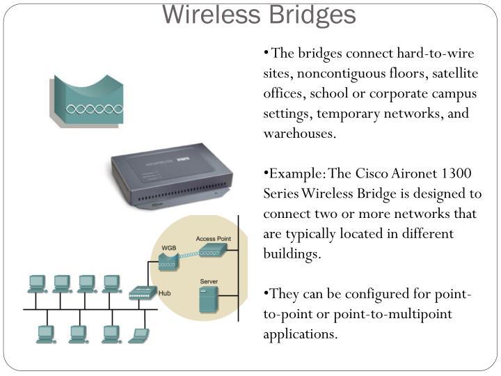 Wireless Bridges