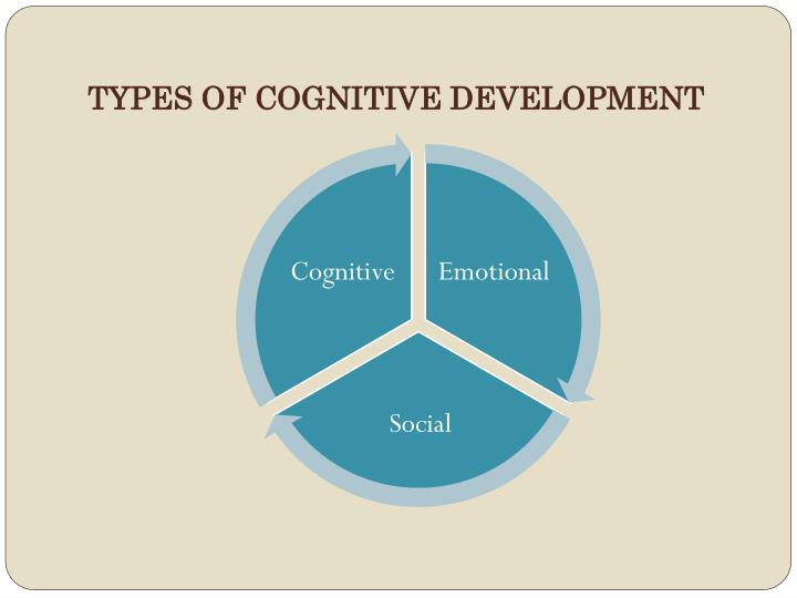 TYPES OF COGNITIVE DEVELOPMENT