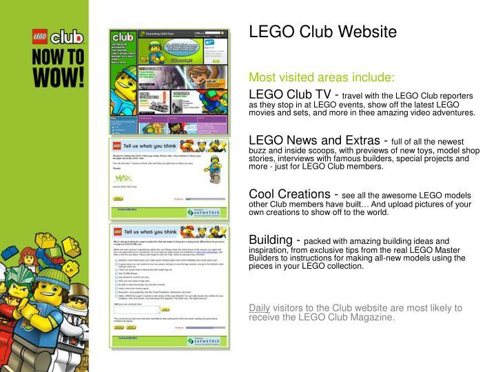 LEGO Club Website