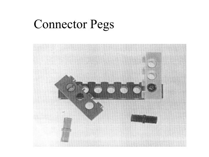 Connector Pegs