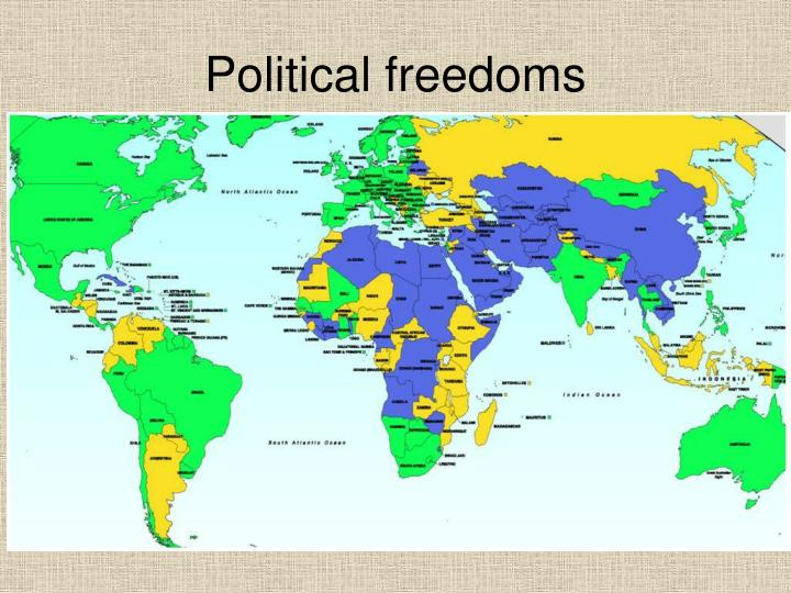 Political freedoms