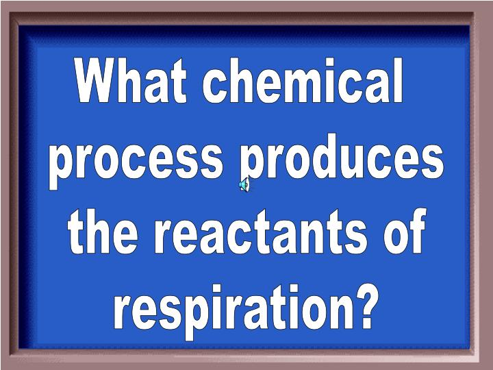 What chemical