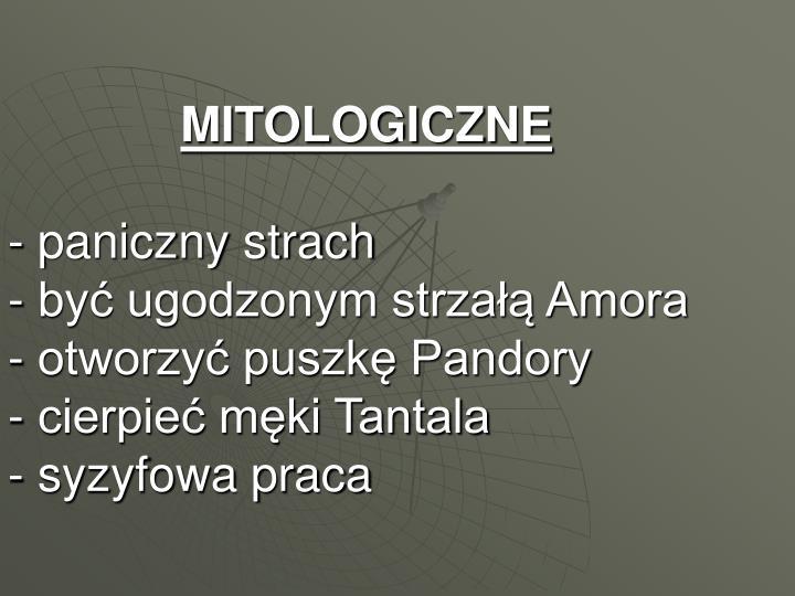MITOLOGICZNE