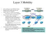 layer 3 mobility