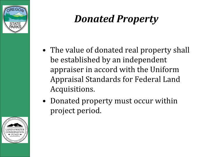 Donated Property