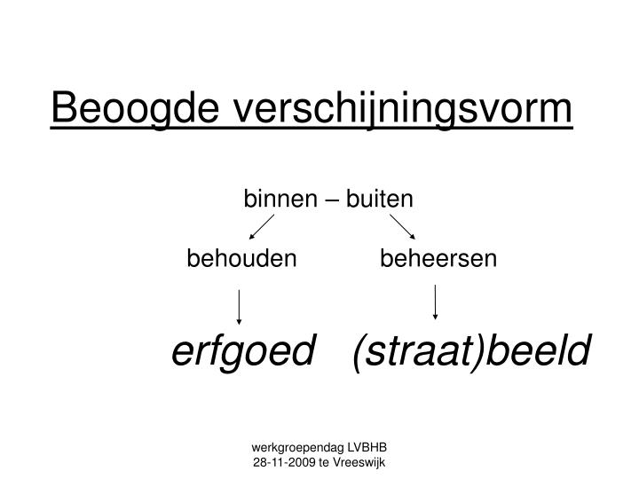 werkgroependag LVBHB             28-11-2009 te Vreeswijk