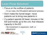 lean flow solution