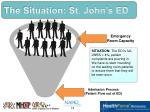 the situation st john s ed