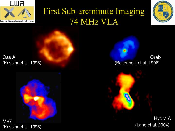 First Sub-arcminute Imaging