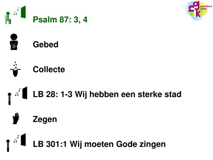 Psalm 87: 3, 4